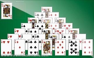 Solitario Piramide Juego De Cartas Solitario Piramide Online Gratis